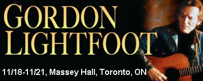 Buy tickets for Toronto, November 2009