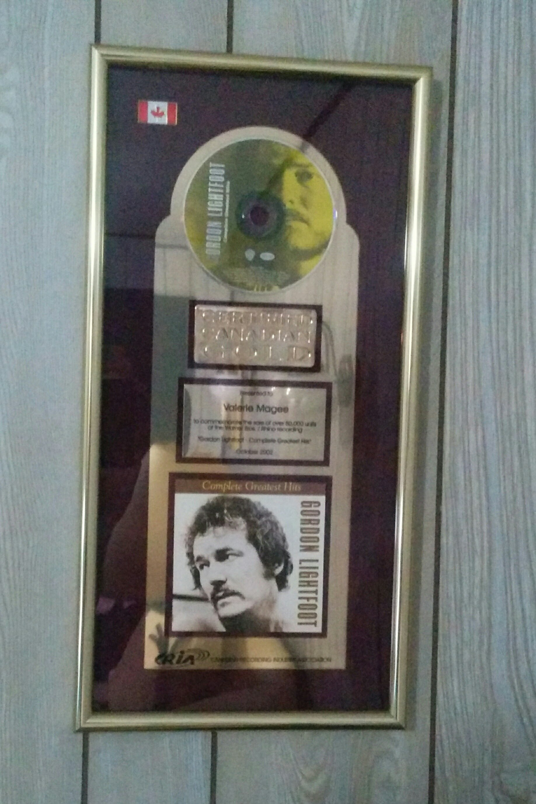 My Gold Record