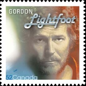 New Gordon Lightfoot Postage Stamp